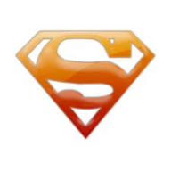 Orange Superman